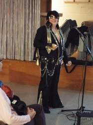 Skeet Deschaine, Elvis impersonator