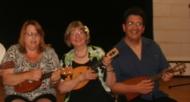 With Liz and Jim Beloff, just played Pineapple Princess with Liz