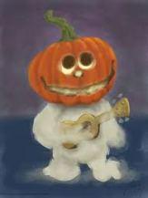pumpkin ukulele