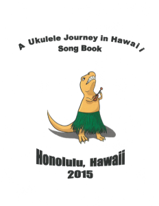 Ukulele Journey Songbook