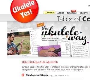 Ukulele Yes