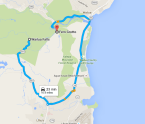 From Fern Grotto to Wailua Falls